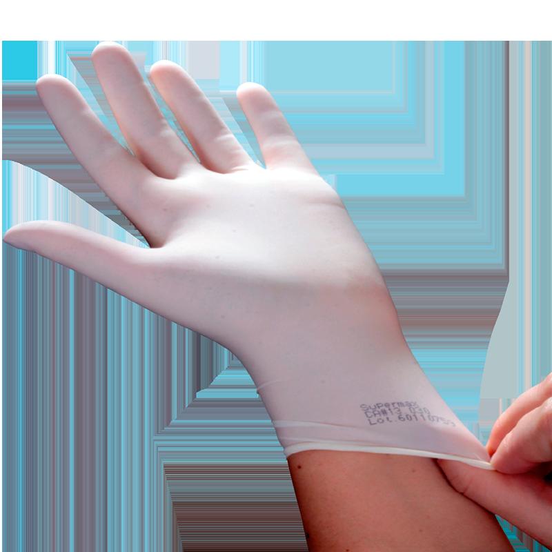 d2cfba239571e As luvas para procedimento não cirúrgico com pó Supermax passam por um  rigoroso controle de qualidade, garantindo alta flexibilidade e resistência  por serem ...